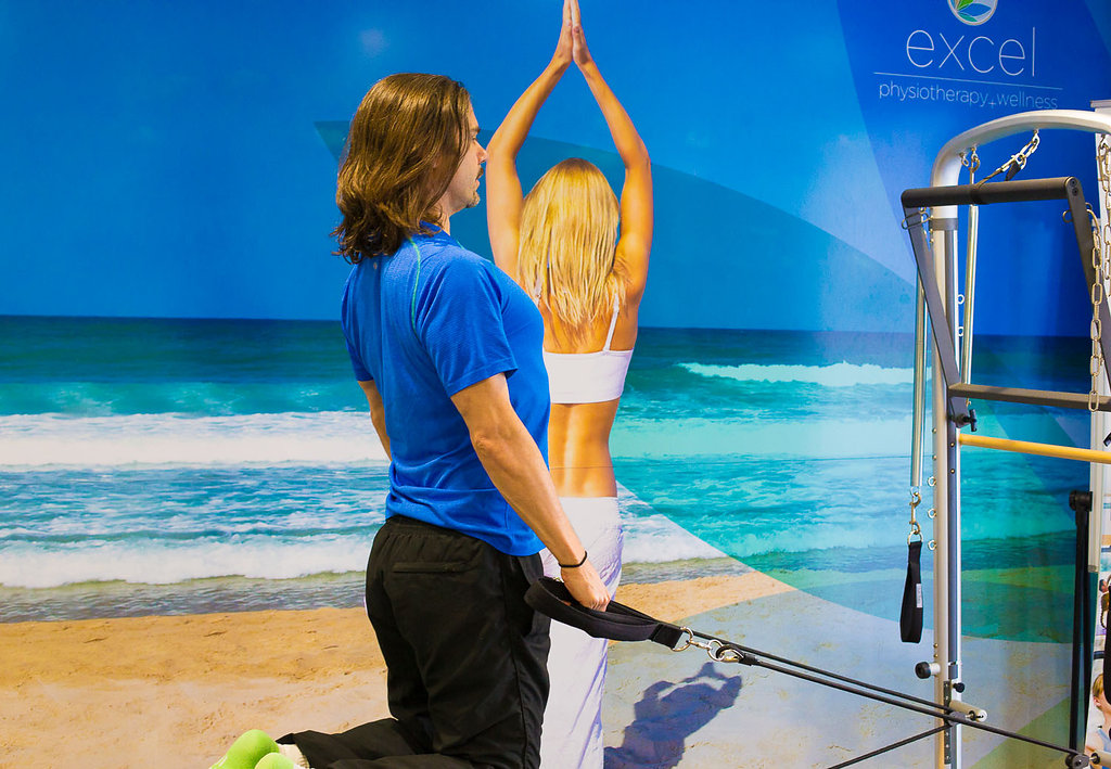 pilates reformer; tim ellis; excel physiotherapy and wellness