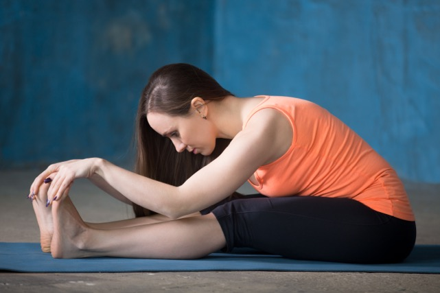Hamstring Stretch, excel physio and wellness
