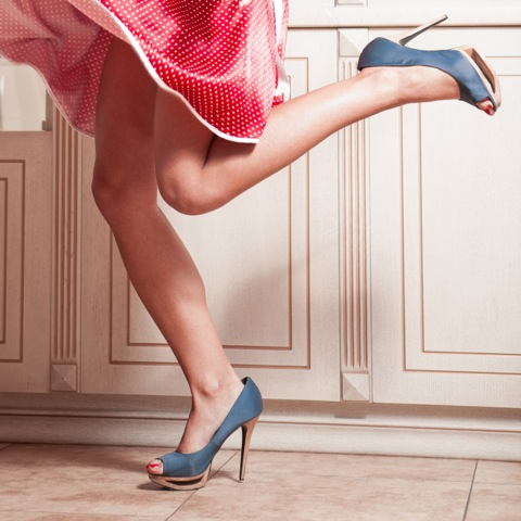 wearing heels; excel physiotherapy and wellness